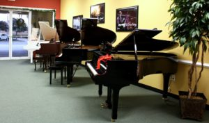 Showroom Lakeland Piano